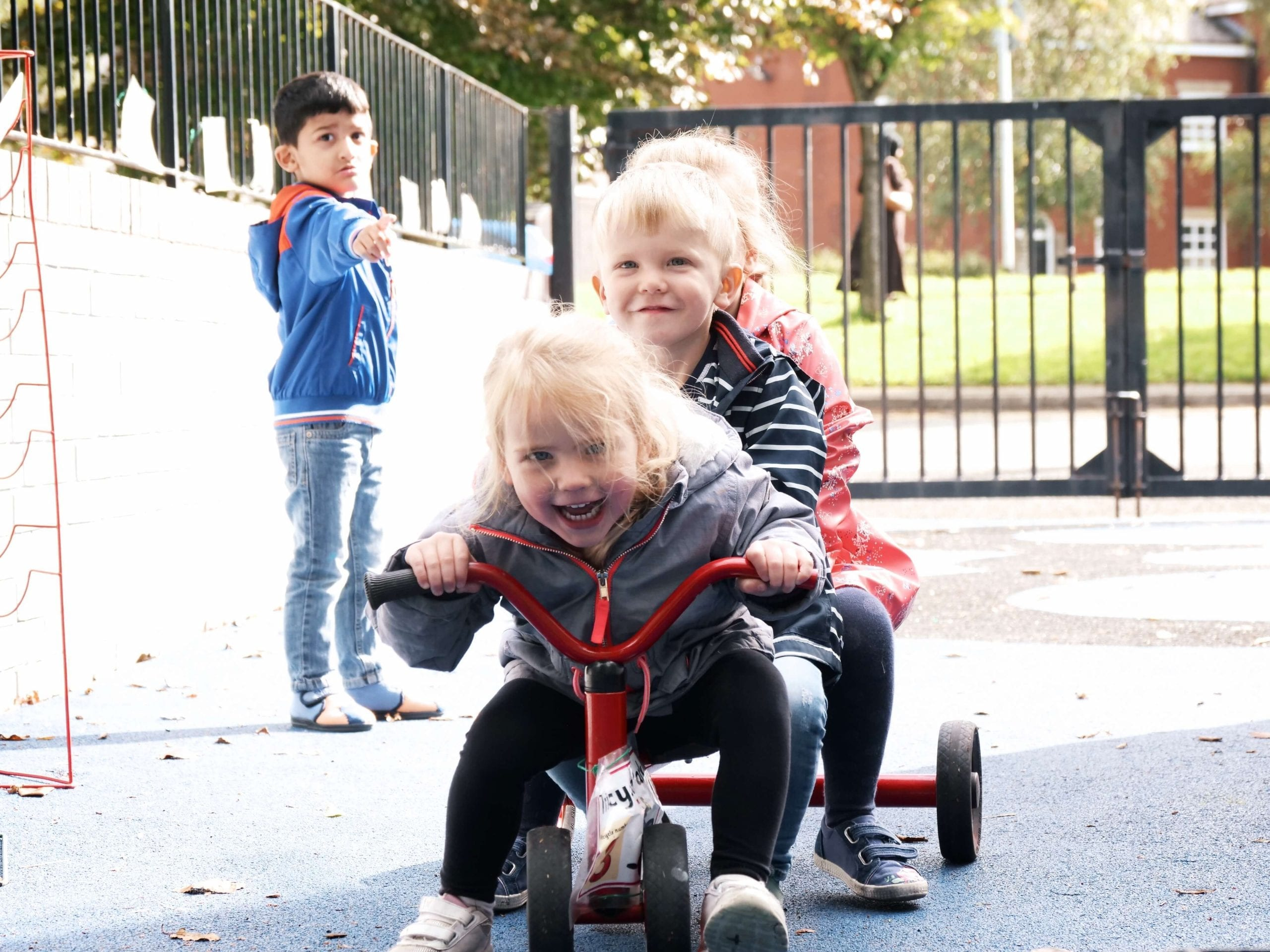children playing at Dream Big Little Ones day Nursery