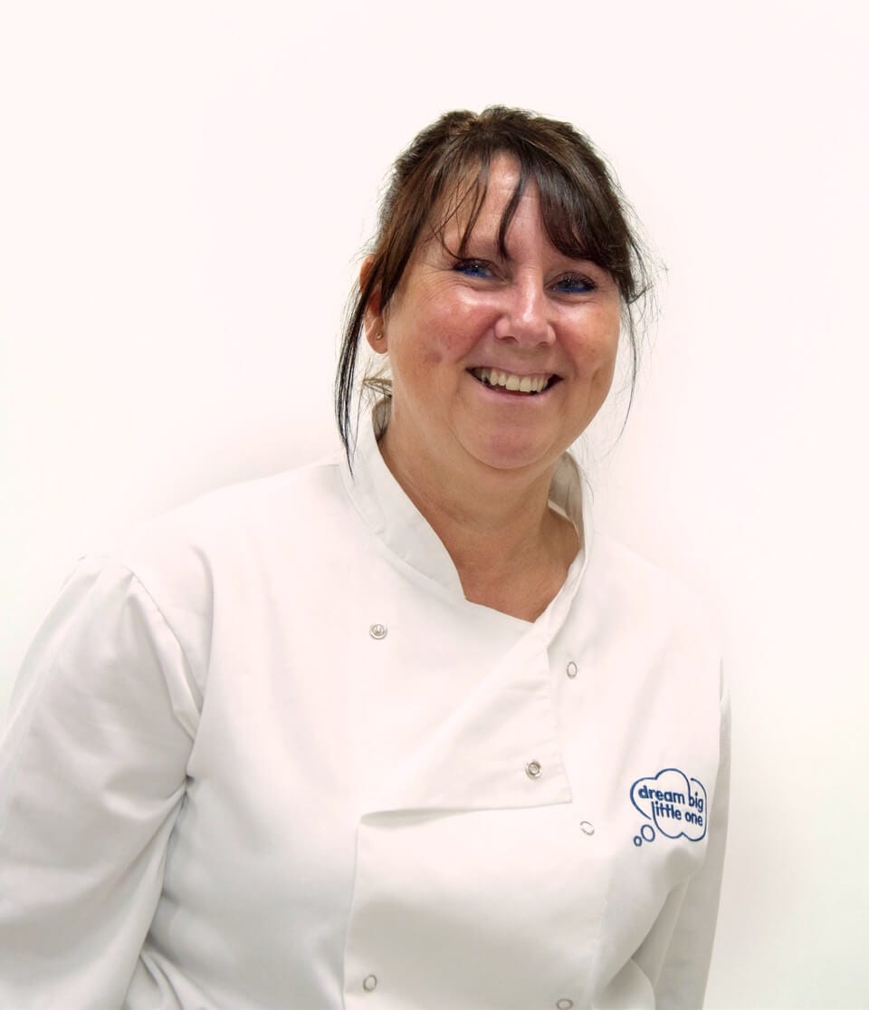 image of Tracy, the Dream Big Little One nursery chef, who creates great nursery menus